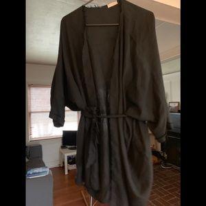 Evens tencel kimono/cape.